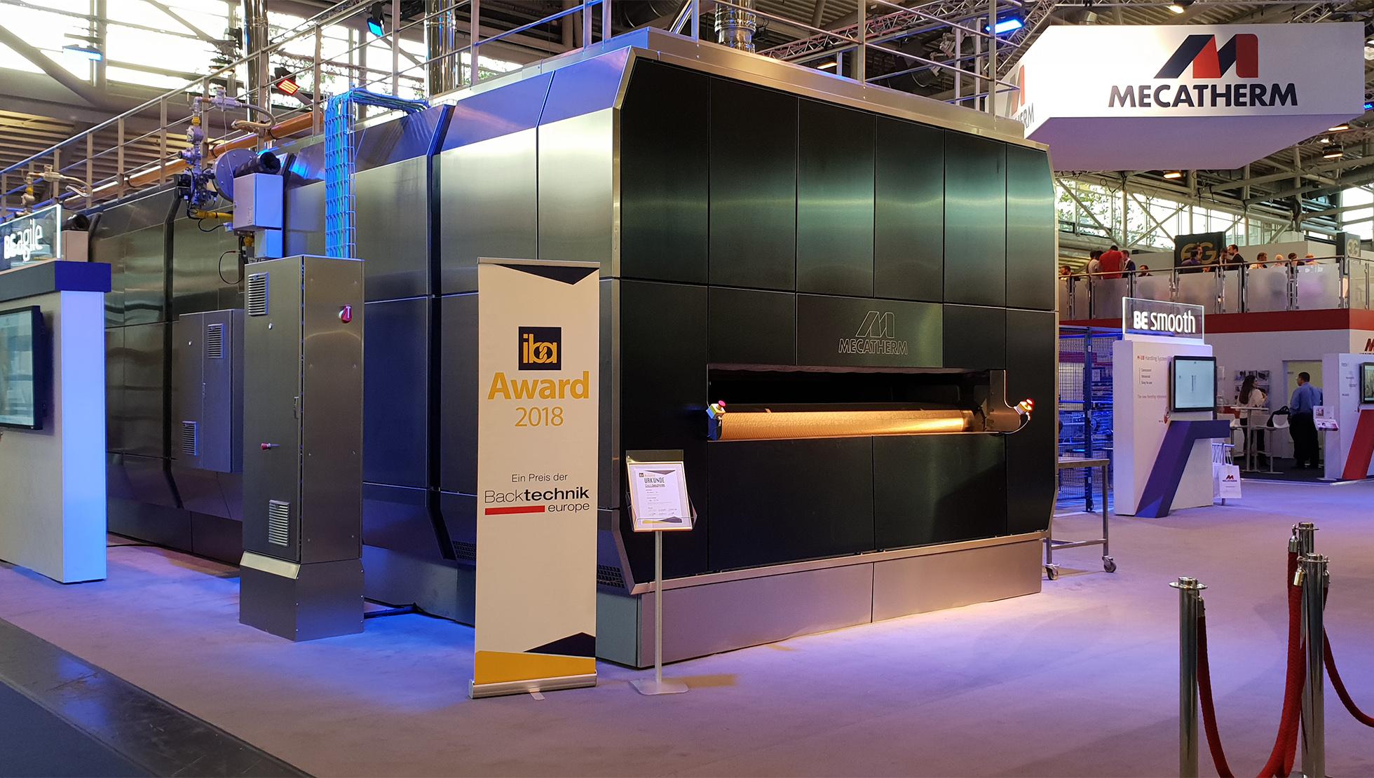 nouvelle gamme d'équipements MECATHERM - salon IBA2018 Munich
