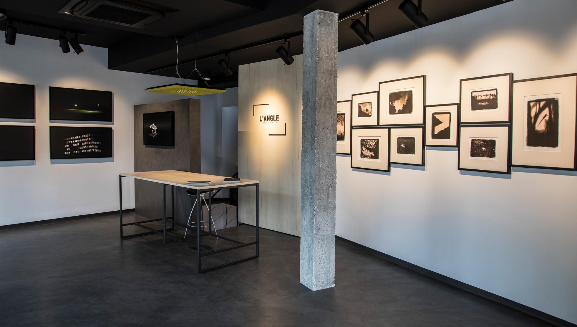 Galerie L'ANGLE - espace réception-exposition