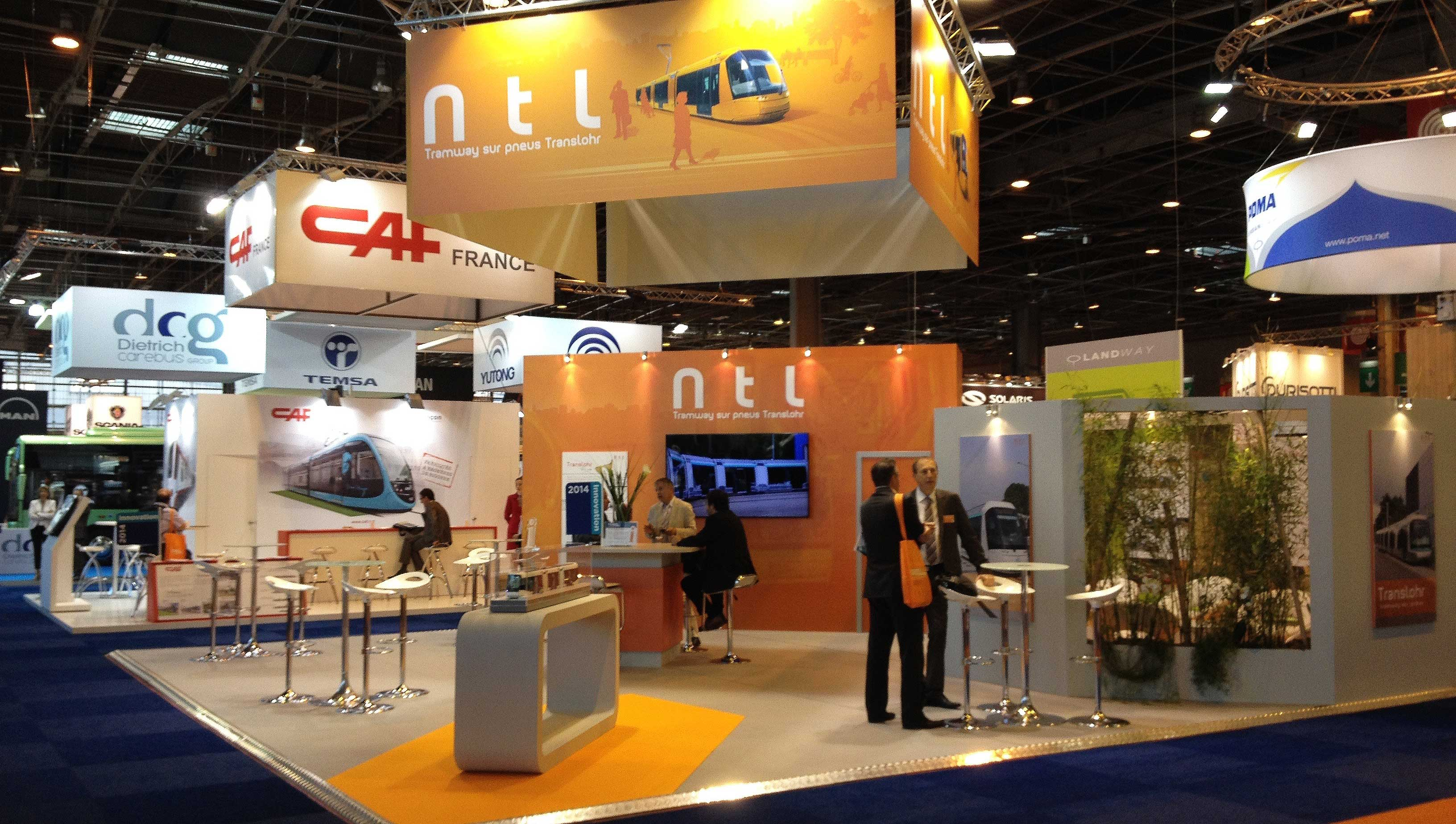Stand d'exposition NTL