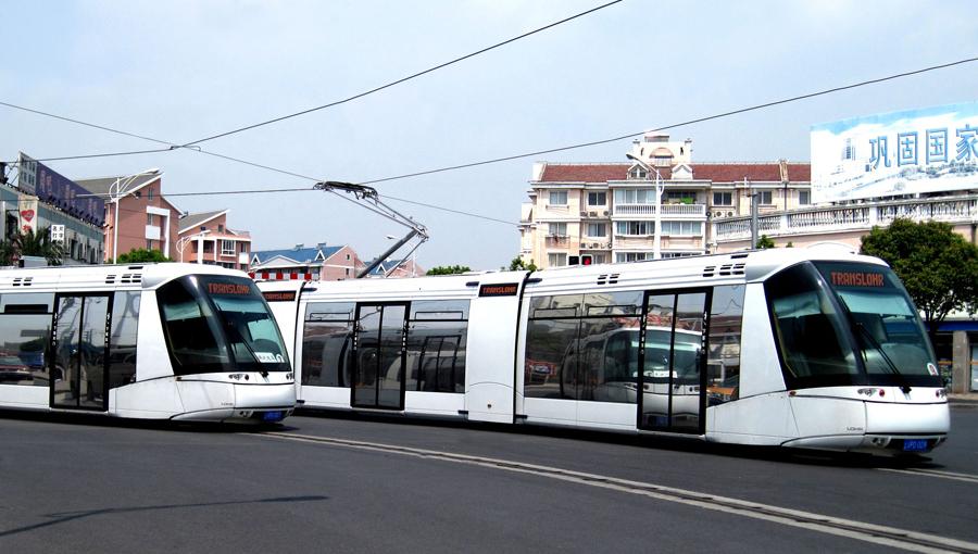 Tramway TRANSLOHR Shanghai