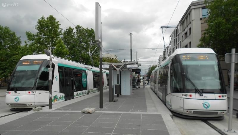 Tramway TRANSLOHR Saint-Denis-Sarcelles-RATP-T5