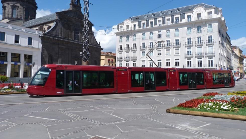 10 ans du tramway Translohr à Clermont-Ferrand